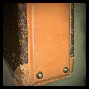 Louis Vuitton's suitcase. Vintage.